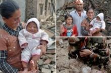อัพเดต ชีวิต หนูน้อย 4เดือน รอดปาฎิหารย์ เหตุ แผ่นดินไหว เนปาล