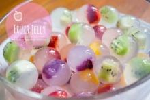 Fruits Jelly วุ้นผลไม้สด น่ากินดับร้อน เห็นแล้วเป๊ะ!!!