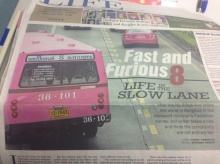 """ขำ ขำ !  ชาวเน็ต บอก  Fast 8  อาจสนใจใช้ """"สาย 8″ เป็นรถหลักของเรื่อง"""