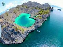 สวยเวอร์ ! เกาะค๊อกคอม หรือ หัวใจมรกต ที่เพิ่งเปิดในพม่า