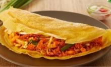 สูตรขนมเบื้องญวน  เมนูยอดฮิตร้านอาหารเวียดนาม