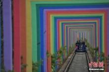 จีนเนรมิต รางรถไฟร้าง เป็นที่เที่ยวสุดโรแมนติก