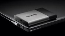 Samsung เผยโฉมฮาร์ดดิสก์พกพาแบบ SSD ความจุ 2 TB ขนาดเท่านามบัตร