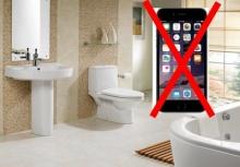 """เหตุผลดีๆที่ไม่ควรนำ """"โทรศัพท์"""" เข้าห้องน้ำด้วย!"""