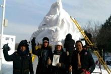 ทีมเยาวชนไทยพิชิตรางวัลแกะสลักหิมะระดับโลก