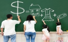 """""""การรวมกระเป๋าเงิน : เงินทองในครอบครัว"""" เพื่อความมั่นคงของชีวิตครอบครัว"""