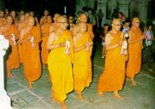 วิธีปฏิบัติตนและพิธีกรรมในวันสำคัญทางพระพุทธศาสนา