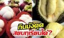 ส่องความสัมพันธ์ 'ราชา-ราชินี' แห่งผลไม้…กินมังคุดสยบทุเรียนได้?
