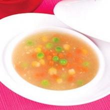 ซุปฟักกับข้าวโพด