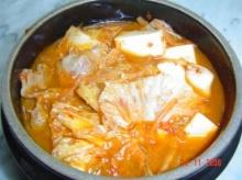 แกงกิมจิ(กิมจิชีเกะ)