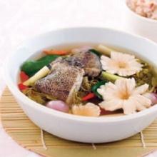 ต้มปลาสลิดใบมะขามอ่อน