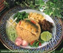 ข้าวผัดปลาทูกะปิหอม
