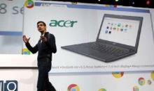 กูเกิลเตรียมออกโน้ตบุ๊ค Chromebook หวังแข่งไมโครซอฟท์คุยระบบเจ๋งกว่า