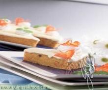 เค้กแครอทโอวัลตินไวท์มอลต์