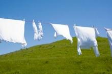 เทคนิคการซักผ้าให้ขาว