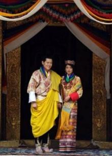 ภาพ งานพิธีอภิเษกสมรส กษัตริย์จิกมี แห่งภูฏาน