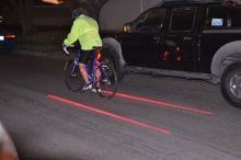ไฟท้ายสร้างเลนจักรยาน