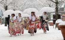 วันบรรลุนิติภาวะ ของชาวญี่ปุ่น