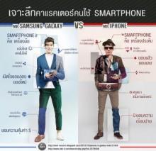 Infographic เจาะลึกคาเรกเตอร์คนใช้..สมาร์ทโฟน