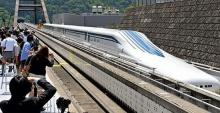 ญี่ปุ่นทดสอบวิ่งรถไฟความเร็วสูง 550 กม./ชม.
