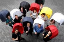 ร่มหมวกกันฝน-ลมรอบด้าน