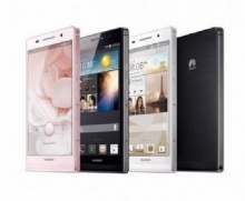 Huawei เปิดตัว Ascend P6 มือถือบางที่สุดในโลก เพียง 6.18 มิลลิเมตร