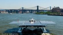 ตื่นตา เรือพลังงานแสงอาทิตย์ใหญ่ที่สุดของโลก