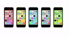 iPhone 5C พลาสติก 5 สี ฉบับ iPhone 5