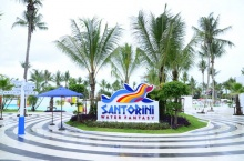 """""""ซานโตรินี วอเตอร์ แฟนตาซี"""" สวนน้ำดิจิตอลแห่งแรกของเอเชีย"""