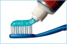 บีบยาสีฟัน แค่ไหนดี