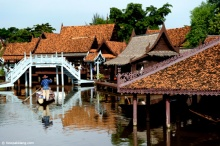 ตลาดน้ำเมืองโบราณ ตลาดน้ำใกล้กรุงที่คุณต้องไปเยือน!