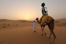 กูเกิ้ลเปิดบริการ เดสเสิร์ตวีว ติดกล้องหลังอูฐโชว์ทิวทัศน์ทะเลทราย