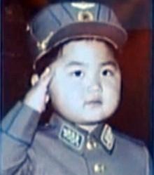 ภาพวัยเด็ก คิมจองอึน ผู้นำสูงสุดของเกาหลีเหนือ