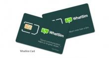 WhatSim มาแล้ว! ซิม WhatsApp ให้คุณแชทฟรีได้ไม่จำกัด!!