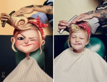 ศิลปินชาวบราซิลนึกสนุกเปลี่ยนคน...ให้เป็นการ์ตูน