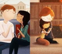 """การ์ตูนสะท้อนถึง """"ความรัก ที่มีอยู่ในสิ่งเล็กๆรอบตัวเรา ที่คุณอาจ """"มองข้าม""""!!!"""