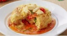 ไข่ฟูปูผัดผงกะหรี่ อร่อยต้องลอง