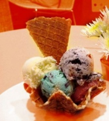 ทานไอศกรีมมื้อเที่ยงไม่อ้วนอย่างที่คิด