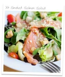 Smoked Salmon Salae