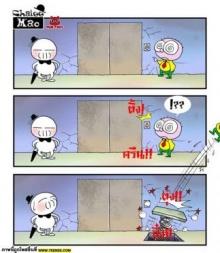 ขำขัน-การ์ตูนชาลี; เรื่องขำๆ ของลิฟท์