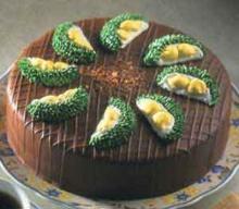 เค้กทุเรียนช็อกโกแลต