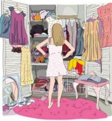 จัดระเบียบตู้เสื้อผ้า