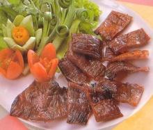 เนื้อแช่น้ำปลา