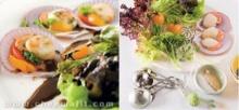 สลัดผักหอยเชลล์ย่าง