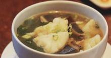 ซุปไข่เยี่ยวม้า ผักชี