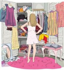ทำอย่างไรดี...มีเสื้อผ้าเต็มตู้ แต่ไม่เคยรู้สึกว่าพอ