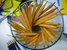 กัดดินสอแก้ปวดหัว?