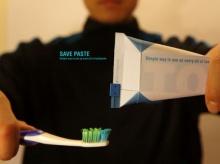 หลอดยาสีฟันสำหรับคนที่ชอบความคุ้ม