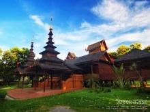 เที่ยววัดจอมสวรรค์ วัดไทยใหญ่สถาปัตยกรรมพม่า