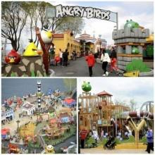 สวนสนุก angry birds ที่แรกในโลก!